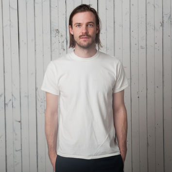 The Signature T Short Sleeve   White Jersey