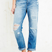 Light Before Dark Destroy Boyfriend Jeans - Urban Outfitters