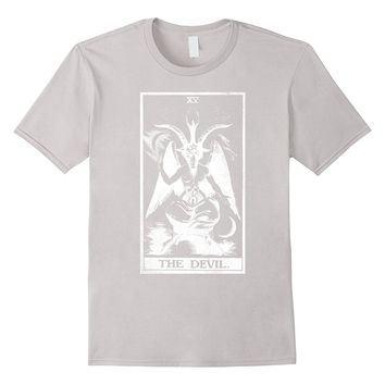Devil Tarot Card Shirt Tarot Card 15 XV
