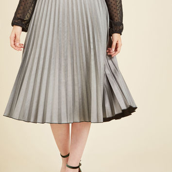 All Accordion to Plan Midi Skirt | Mod Retro Vintage Skirts | ModCloth.com