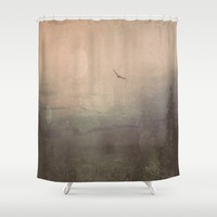Does It ever  Shower Curtain by Faded  Photos