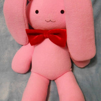 Ouran High School Host Club inspired Usa-chan mascot pink bunny rabbit (50 cm high) for Mitsukuni Honey Haninozuka cosplay