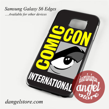 comic con logo Phone Case for Samsung Galaxy S3/S4/S5/S6/S6 Edge