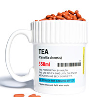 Gift Republic Need My Meds Tea Mug White One