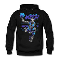 The Fresh I Am Clothing Poetry in Motion Aqua 8s Hoodie