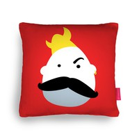 Moustache Viking Cushion by Andy Fielding | Ohh Deer