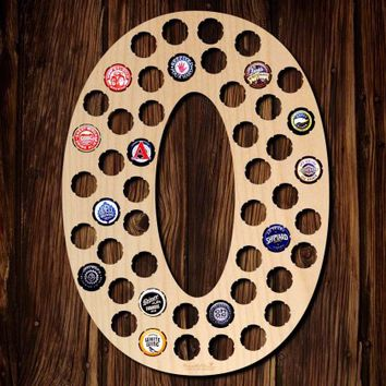 Number Zero Beer Cap Map