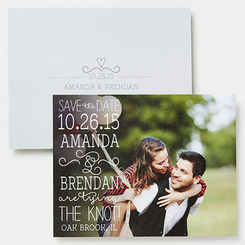 Photo Wedding Save the Date Cards