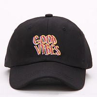 Men Good Vibes Cool Baseball Cap