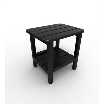 Malibu Outdoor Living Recycled Plastic 15IN. x 19IN. End Table