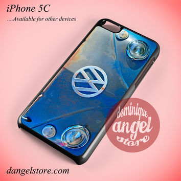 Volkswagen Emblem Phone case for iPhone 5C and another iPhone devices