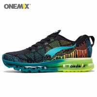 Onemix Brand Running Shoes Men Light weight Athletic Sneakers Mesh Breathable Sport Trainers For Man Music Rhythm Max Size 12