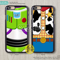 iPhone 6 case, iPhone 6 Plus case, Toy Story Woody Buzz Lightyear, iPhone 5 case, iPhone 5S Case, Galaxy S5 S4 S3 Note 2 Note 3, A0241