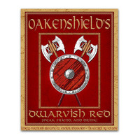 Middle Earth Microbrews Oakenshield's Dwarvish Red  by tiedyejedi
