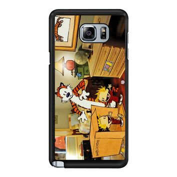 Calvin And Hobbes Surprise Samsung Galaxy Note 5 Case