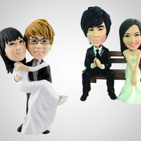 Your Face Wedding Cake Topper - DudeIWantThat.com