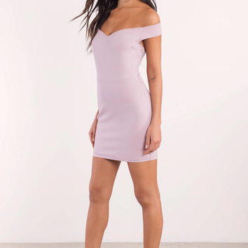 Alannah Off Shoulder Bodycon Dress