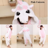 Kigurumi Adult  Unisex Fleece Animal  Costumes Onesuits Pajamas Cosplay Sleepwear