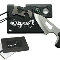 Guardman Card Tool 10 in 1 Camping Knife Survival Card