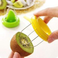 ONETOW Newest Creative Mini Kiwi Peelers 2-In-1 Kitchen Tools Kiwi Cutter Fruit Tools Top Quanlity