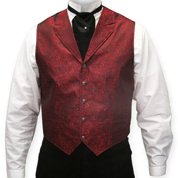 River Trail Vest - Red
