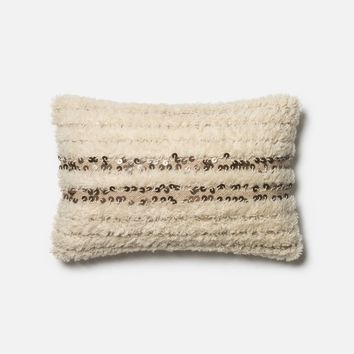 Loloi Ivory Decorative Throw Pillow (P0423)