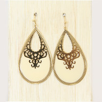 Ivory Aneesa Earrings - Earrings