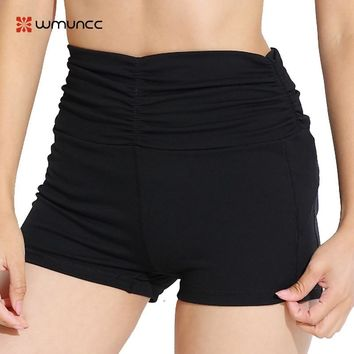 Women Yoga Shorts High Waist Sport Fitness Quick Dry Femme Wicking Jogging Gym Running Workout Leggings Bottom Sexy Push Up Hot