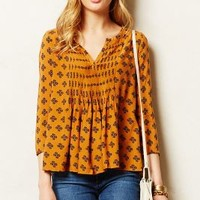 Mahdia Peasant Top by Vanessa Virginia