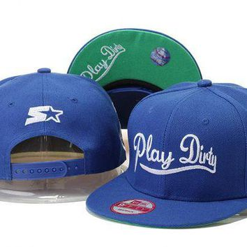 DCCKUN7 Undefeated Play Dirty Snapback Cap Snapback Hat - Ready Stock