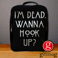 I am Dead Wanna Hook Up American Horror Story Backpack for Student