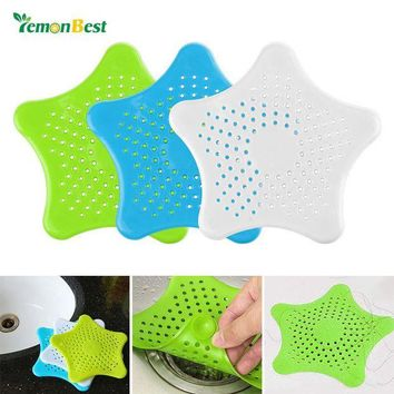 VONFC9 Rubber Drain Cover Sink Strainer Leakage Filter Sewer Drain Hair Colanders Strainers Filter Kitchen and Bathroom Shower sifter