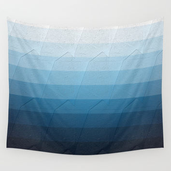 Geometric 09 Wall Tapestry by VanessaGF