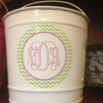 DIY DECAL SET for Pail or Bucket