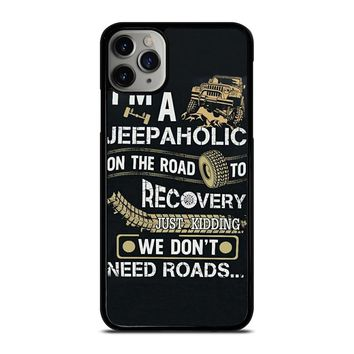 JEEP WE DONT NEED ROAD iPhone Case Cover