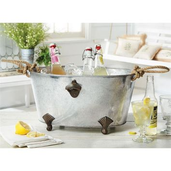 Bottle Opener Beverage Tub