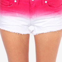 Soley Ombre Shorts $38