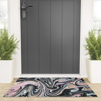 Have a little Swirl Welcome Mat by duckyb