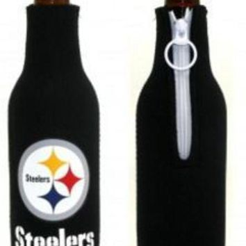 LMFON NFL Pittsburgh Steelers Bottle Koozie