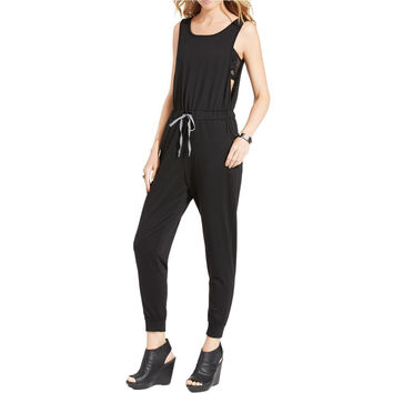 Love Fire Womens Juniors Sleeveless Pull On Jumpsuit