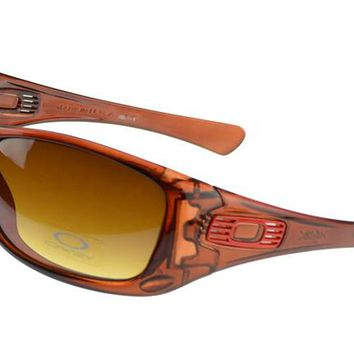 Oakley Antix Sunglasses orange Frame yellow Lens