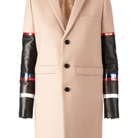 Givenchy Contrast Sleeves Overcoat - L'eclaireur - Farfetch.com