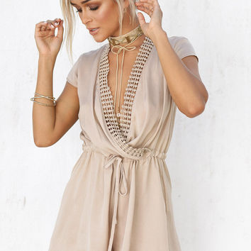 Buy Angelika Chain Playsuit Online by SABO SKIRT