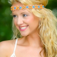 Starry-Eyed Headband-Apricot