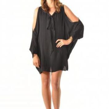 Batwing CutOut Dress