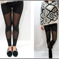 Sandysshop — Triangle Mesh Leggings