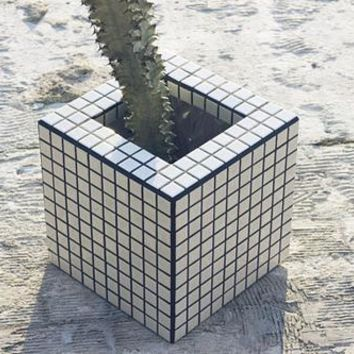 Mosaic planter pot