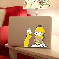 Katherinedes789 Creative Cartoon Simpson Stickers for Macbook Air 13 Inch (9)