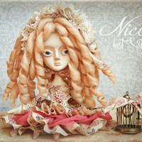 NICOLE, LOST SISTERS Ooak Collectible Art Doll By Odd Princess