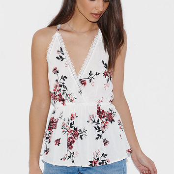 Kendall and Kylie Surplice Tunic Cami Tank Top at PacSun.com